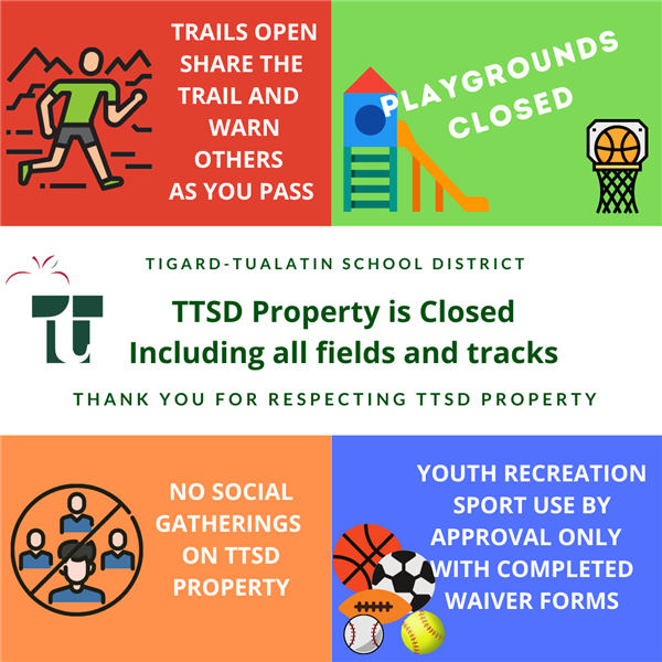 TTSD Property is closed